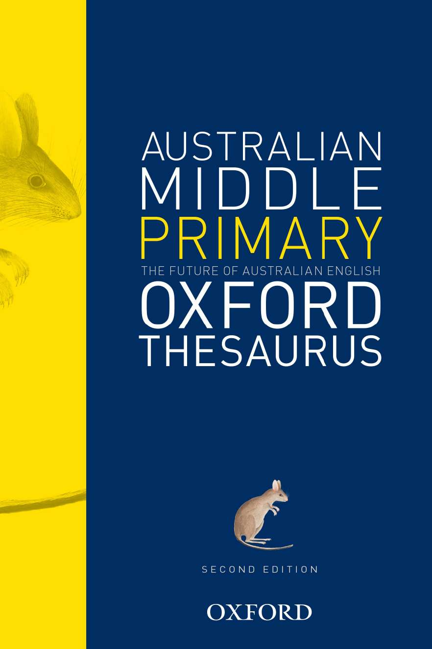 The Australian Middle Primary Thesaurus