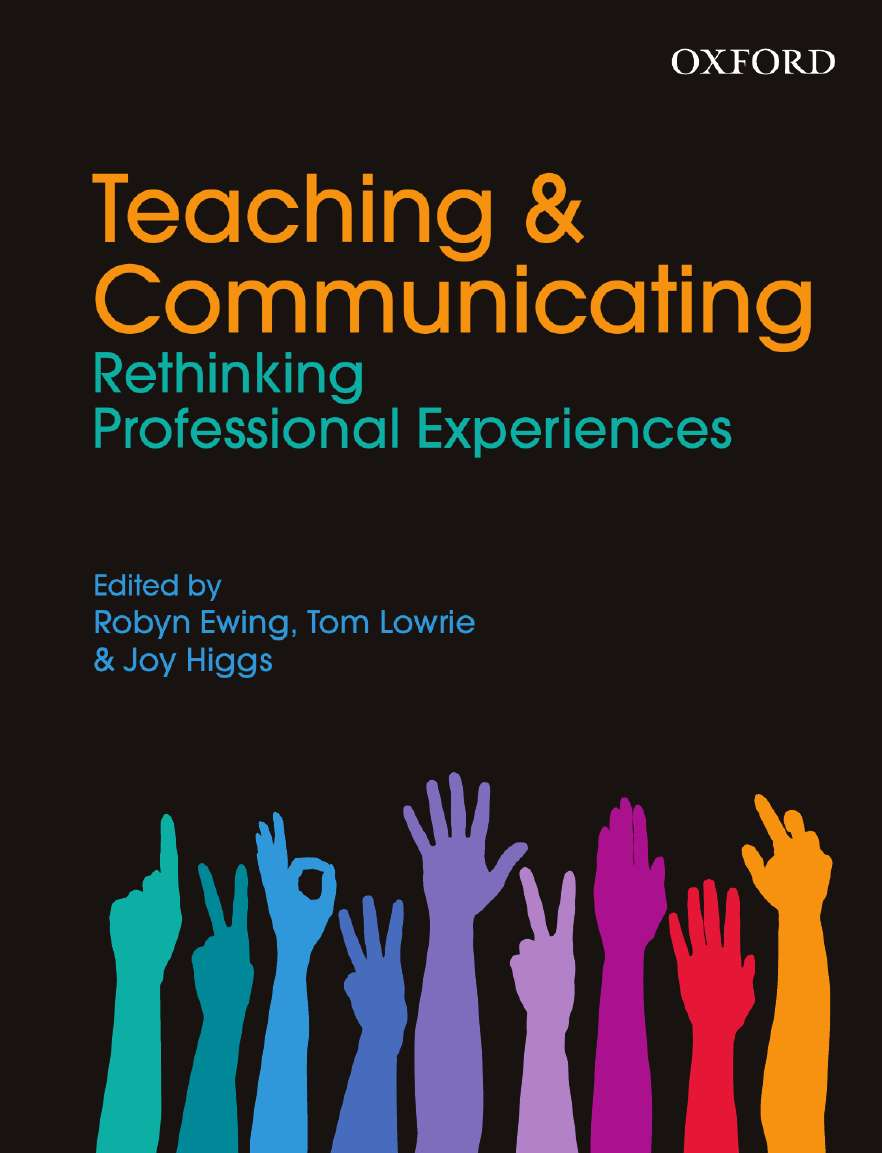 Teaching and Communicating