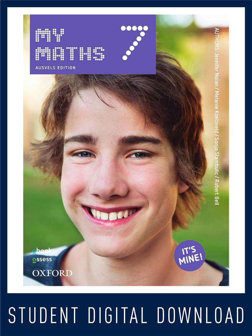 MyMaths 7 AusVELS Student obook assess