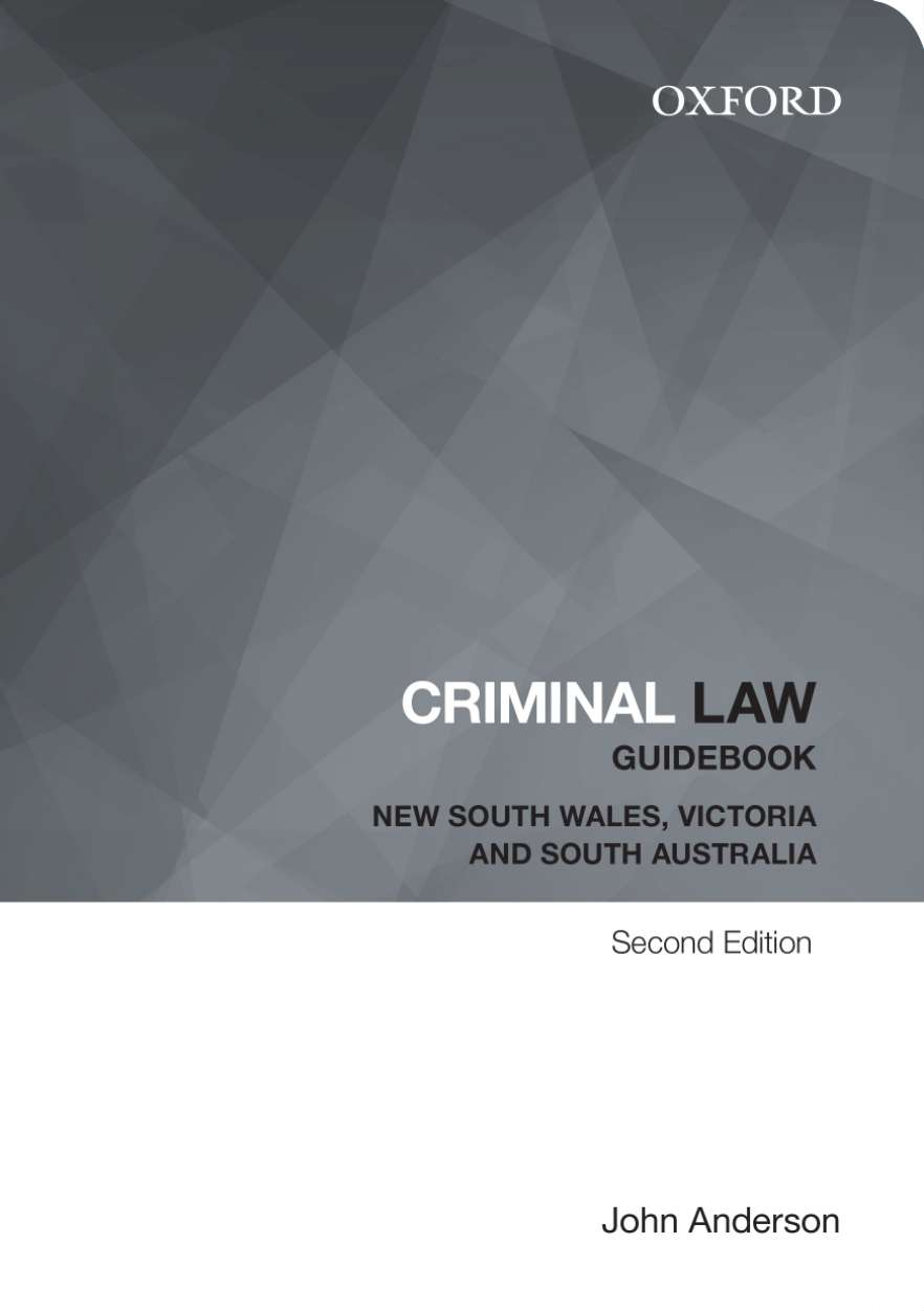Criminal Law Guidebook