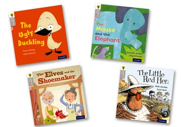 Oxford Reading Tree Traditional Tales Level 1 Pack of 4