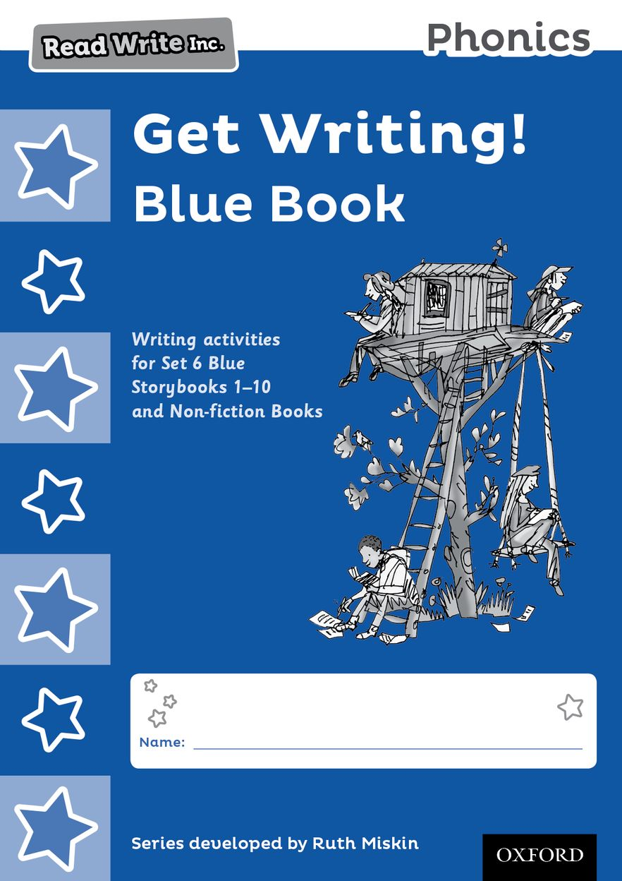 Read Write Inc Phonics: Get Writing! Blue Book Pack of 10