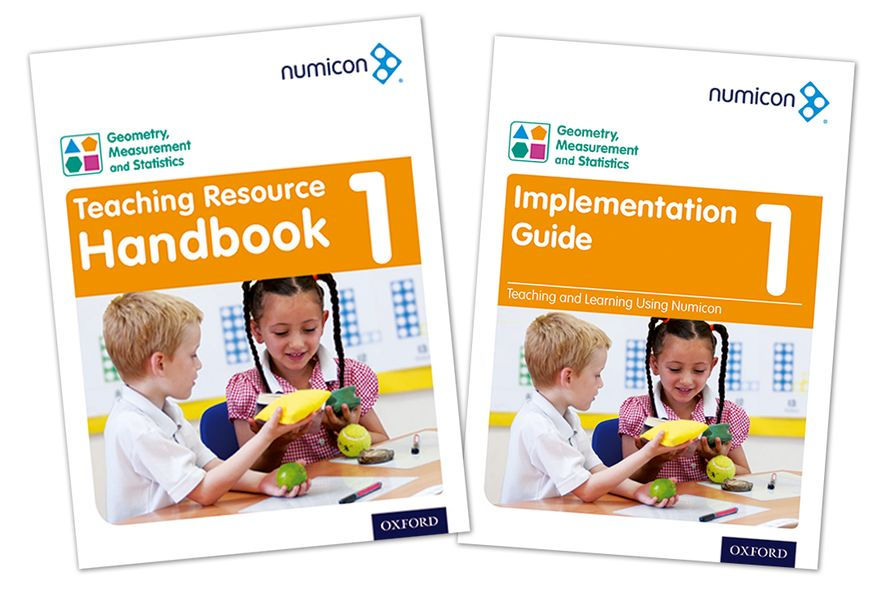 Numicon Geometry, Measurement and Statistics 1 Teaching Pack