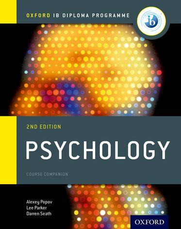 IB Psychology Course Book Oxford IB Diploma Programme
