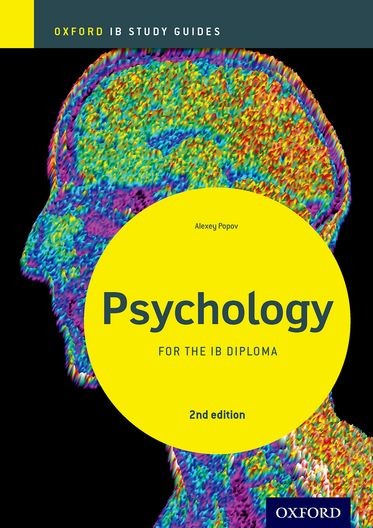 IB Psychology Study Guide Oxford IB Diploma Programme