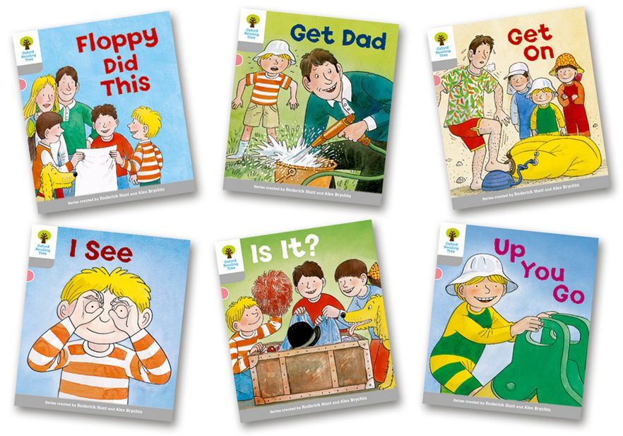 Picture of Oxford Reading Tree Biff, Chip and Kipper Level 1 More First Words Pack of 6