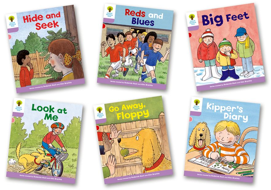 Picture of Oxford Reading Tree Biff, Chip and Kipper Level 1+ First Sentences Pack of 6