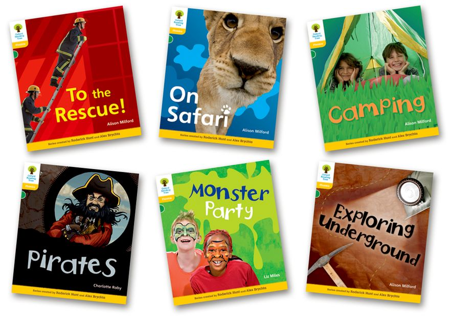 Oxford Reading Tree Floppy's Phonics Non-Fiction Level 5 Pack of 6