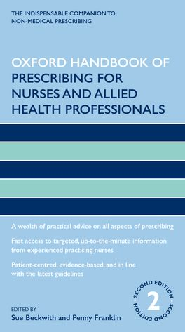 Oxford Handbook of Prescribing for Nurses and Allied Health Professionals
